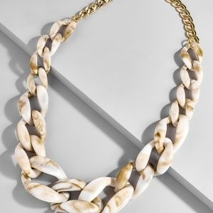 Bauble Bar Bone Links Necklace